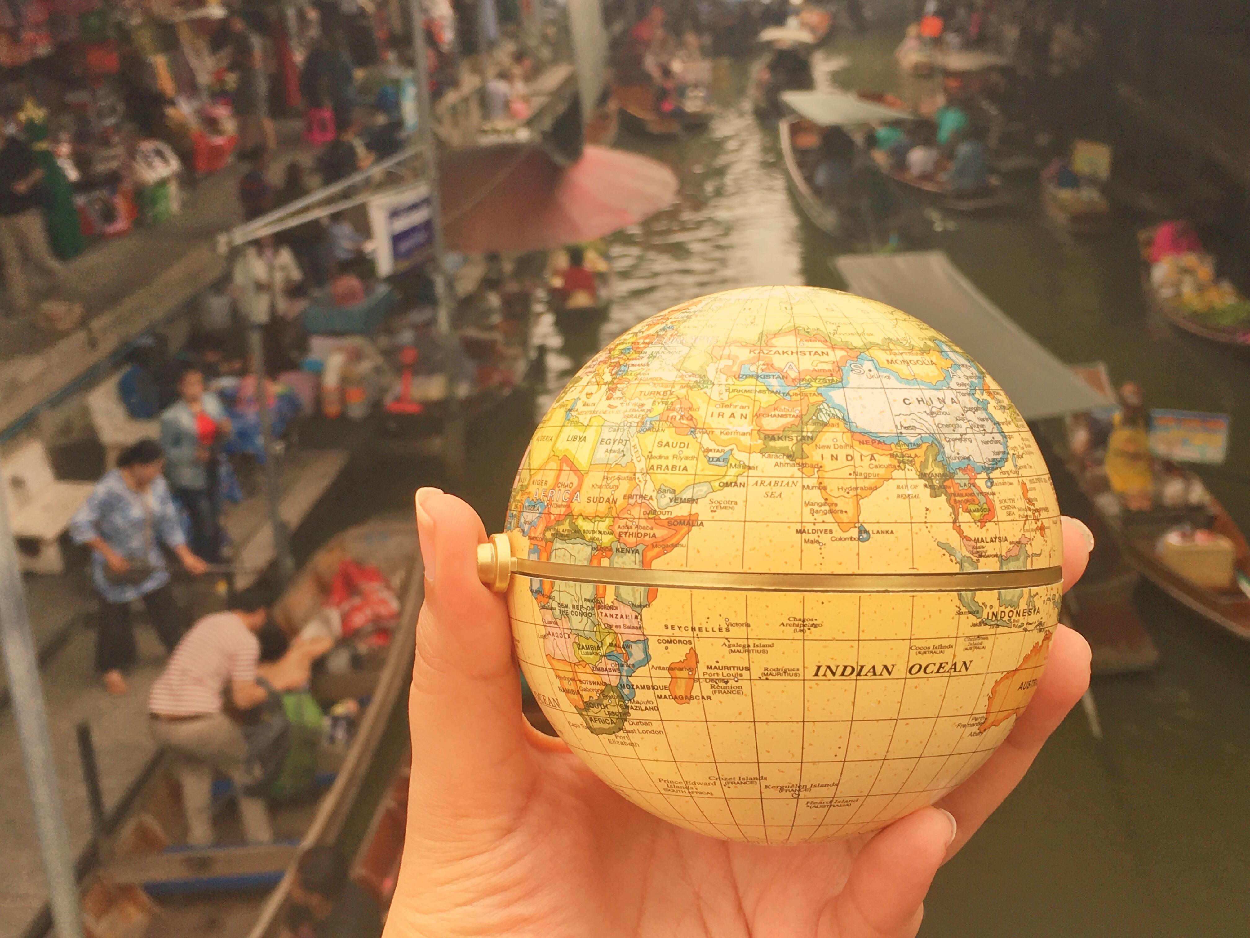 The Vibrant Thai Floating Market